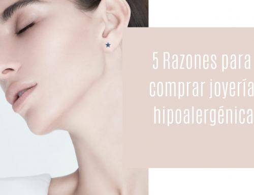 5 Razones para  comprar joyería  hipoalergénica